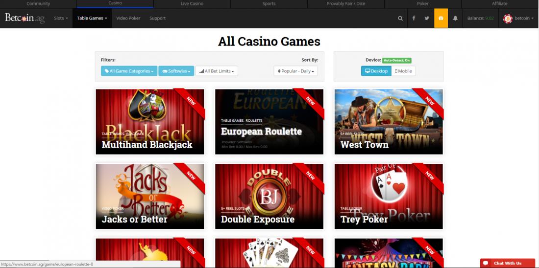 Betnet Ag Casinos Login